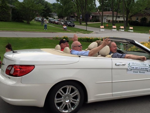 Walter Brothers in Town Parade