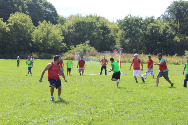 Argentina Picnic Soccer Game
