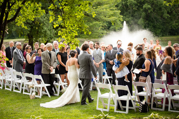 Oak Brook Bath & Tennis Wedding in Borrowed and Blue