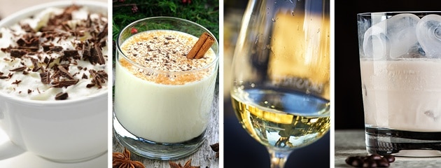 white holiday drink ideas