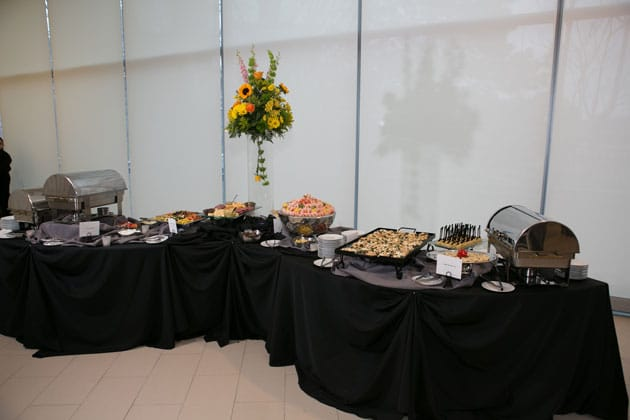 delicious and beautiful appetizer display