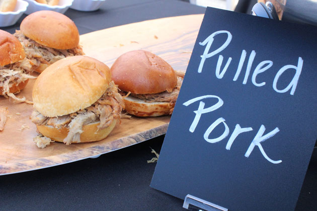 Pulled Pork Menu