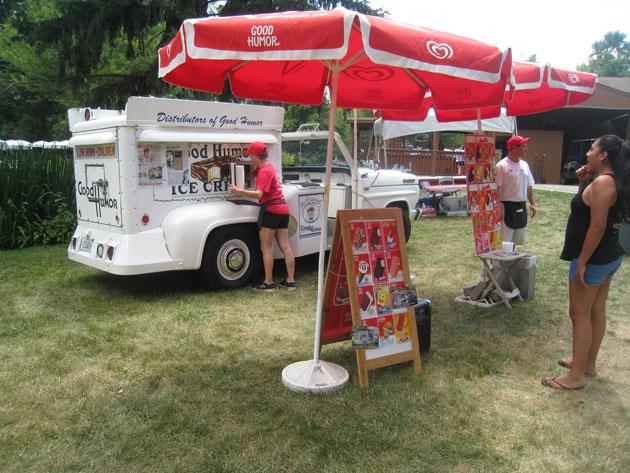 Good Humor Ice Cream Truck Picnic