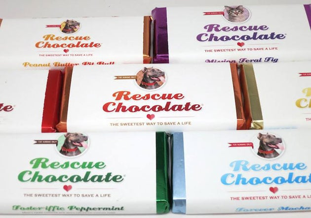 Animal Rescue Chocolate Favors