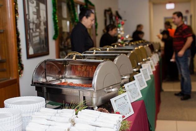 Stuffed Shells Holiday Buffet Entrees