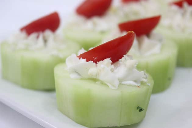 Cucumber Ranch Bites