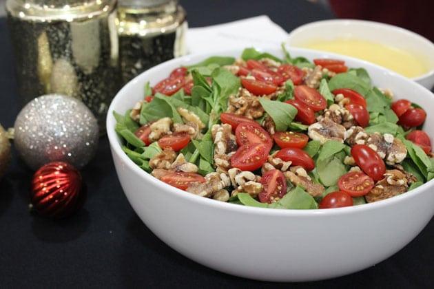 Winter Salad Holiday Menu Ideas