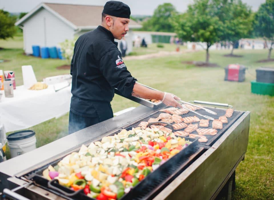 Chef Jesse Grilling