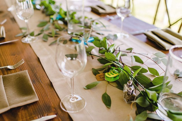 Beautiful Florals and Greenery Centerpieces