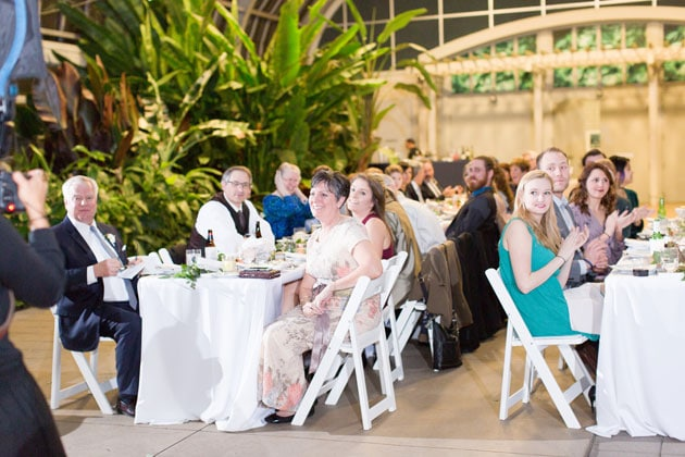 Reception in the Horticulture Hall