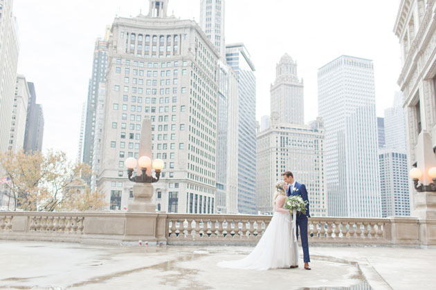 Chicago Wedding with Tasty Catering