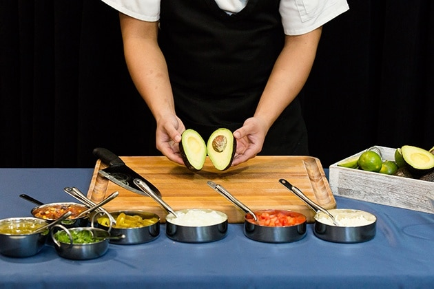 Avocado Action Station at Special Event