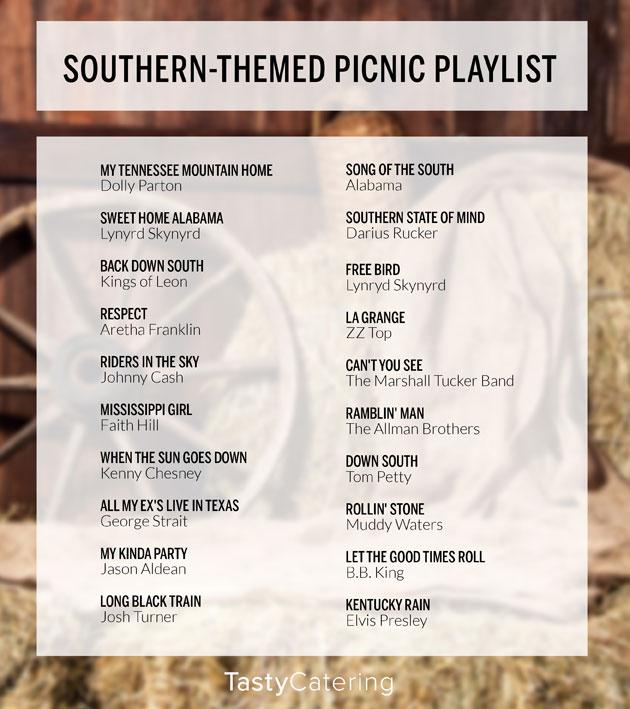 Southern-Themed Picnic Playlist