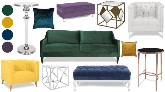 Regale sofa from AFR furniture rental