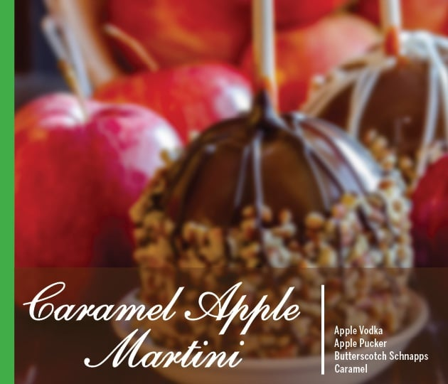 Caramel Apple Martini Holiday Drink Recipe