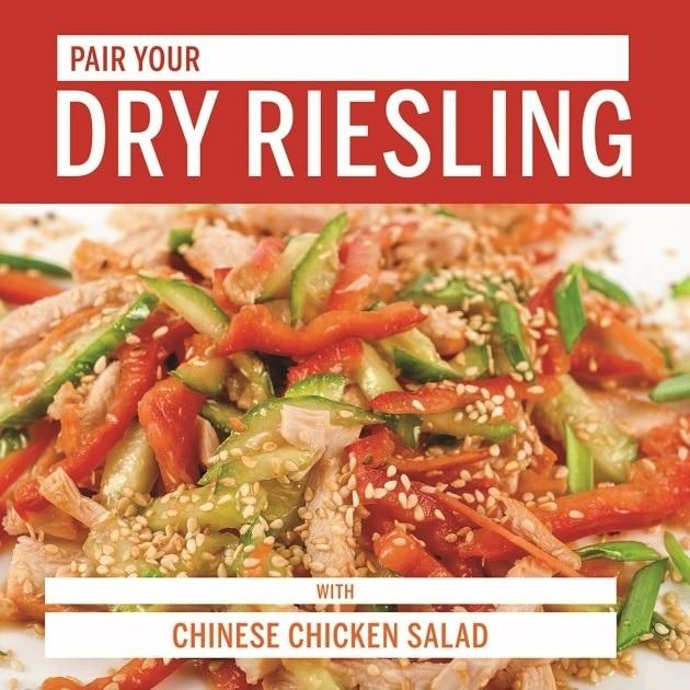 Dry Riesling food pair
