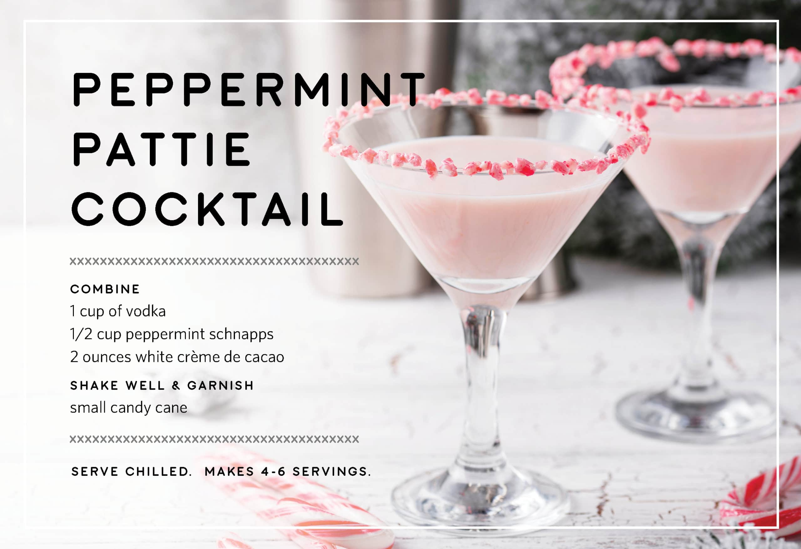 Peppermint Pattie Holiday Drink Recipes