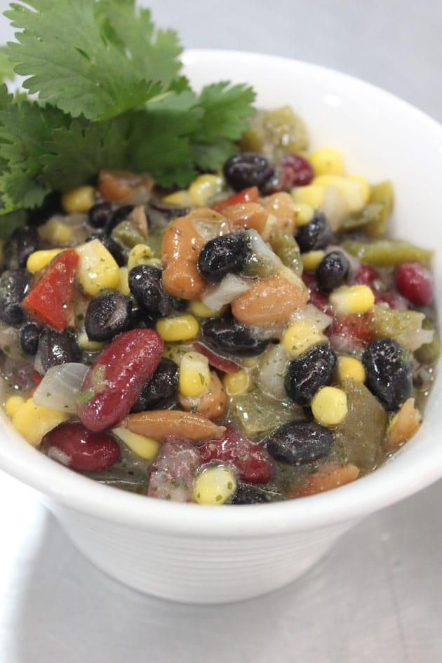 Legume & Bell Pepper Salad