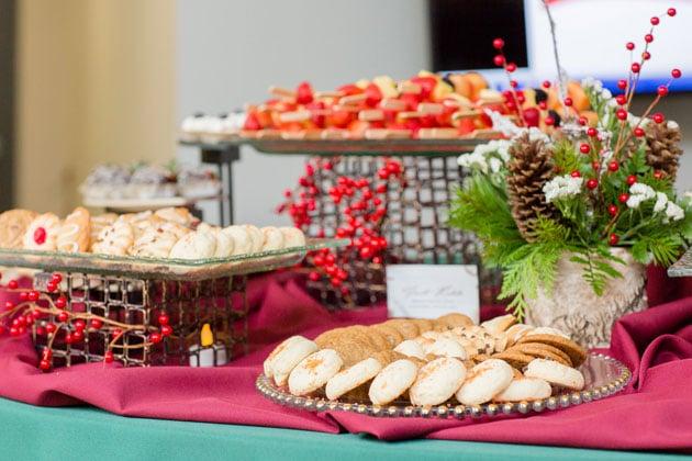 Holiday Decor at Holiday Company Party