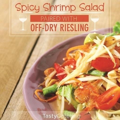 Off dry Riesling food pair