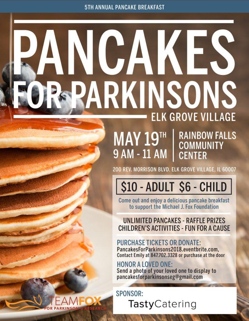 Pancakes for Parkinson's Elk Grove Village 2018