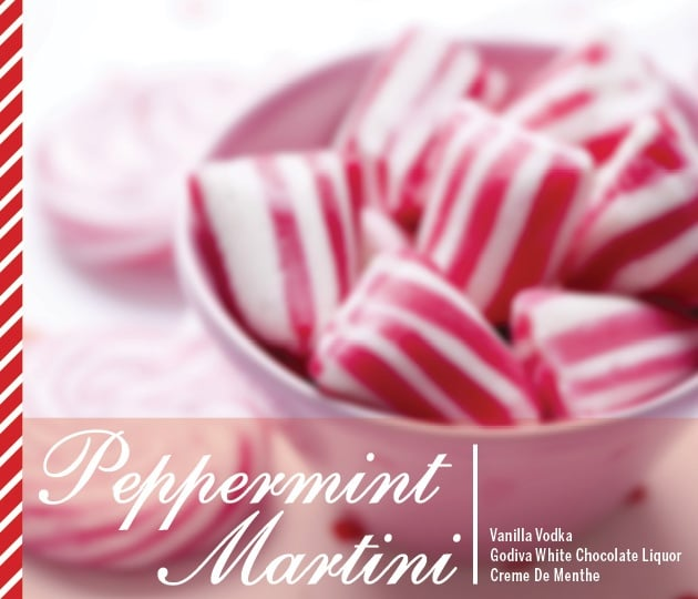 Peppermint Martini Holiday Drink Recipes