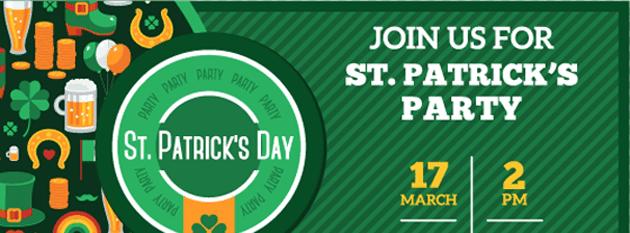 St Patricks Day Party Invitation
