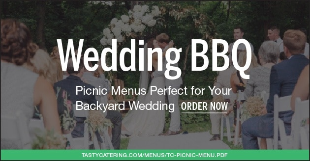 Tasty Catering Backyard Wedding Menu Chicago Area