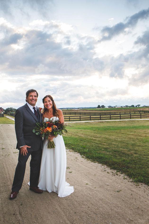Debra and John DeWald Wedding at Serosun Farms