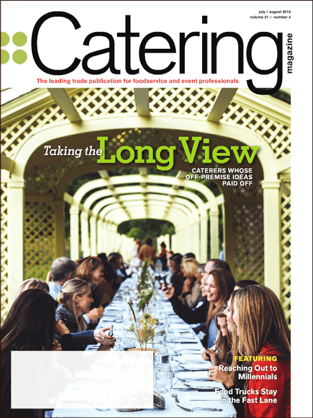 Catering Magazine Feature Reaching Out to Millenials