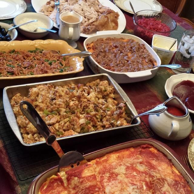 erebert thanksgiving dinner