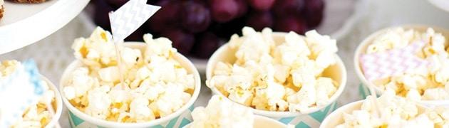 popcorn wedding stand