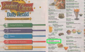 Tasty Catering voted Best Caterer in the Daily Herald Readers' Choice Awards
