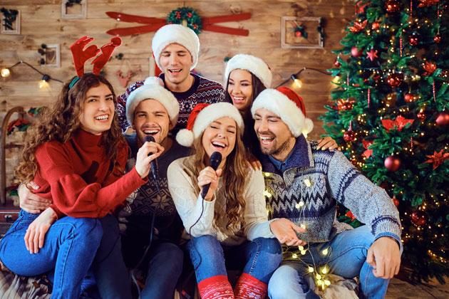 Unique Holiday Party Theme: Christmas Carol Karaoke