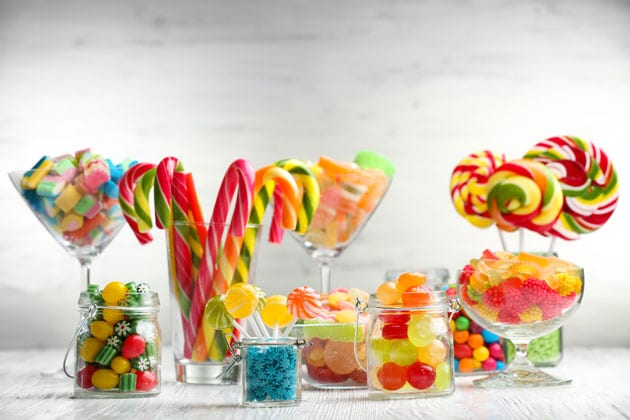 Candy Bar at Your Holiday Event