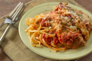 Chicken Parmesan Italian Meal Wedding