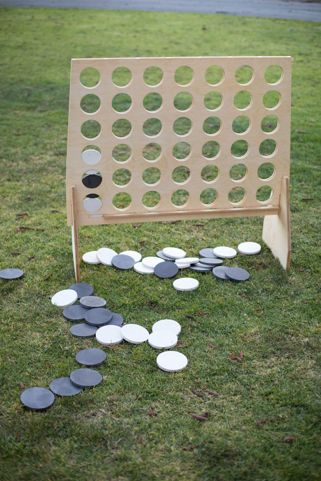 Connect Four Outdoor Game at Picnic