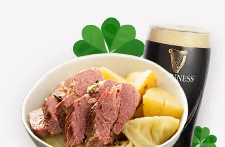 St. Patricks Catering Menu Cover
