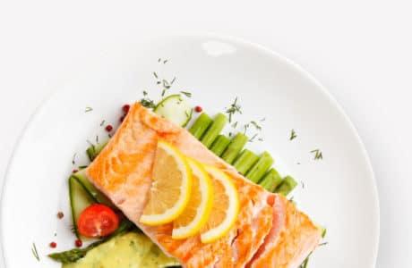 Tasty Catering Salmon Salad