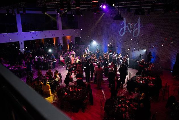 Dance Floor at Loft 21 Wedding